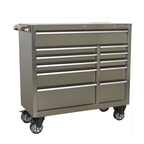 Buy Sealey PTB105511SS Rollcab 11 Drawer 1055mm Stainless Steel Heavy-Duty at Toolstop