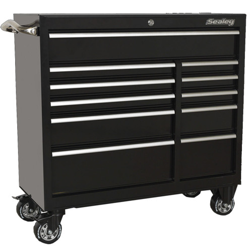 Buy Sealey PTB105511 Rollcab 11 Drawer 1055mm Heavy-Duty Black at Toolstop