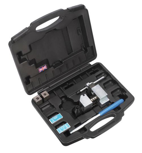 "Buy Sealey PFT/02 Pipe Flaring Kit 3/16"" Sae, 4.75mm Sae & Din at Toolstop"
