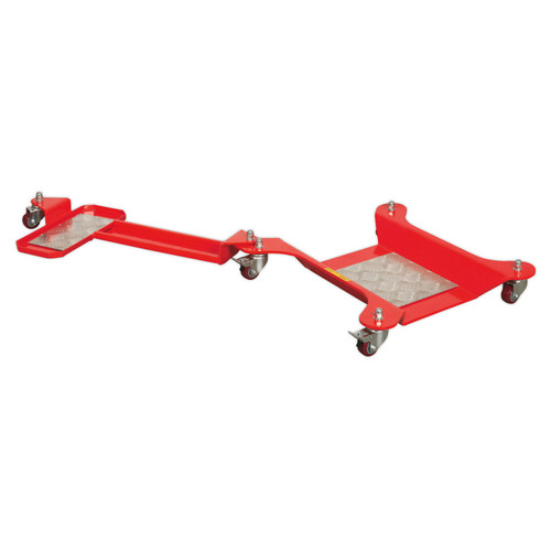 Buy Sealey MS064 Motorcycle Dolly Rear Wheel - Long Side Stand Type at Toolstop
