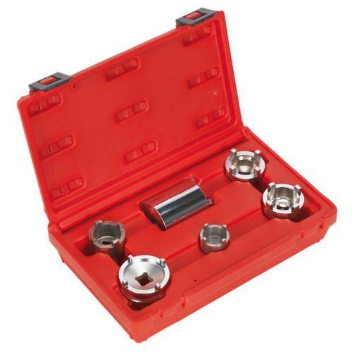Buy Sealey MS050 Motorcycle Swingarm Lock Nut Set 6pc at Toolstop