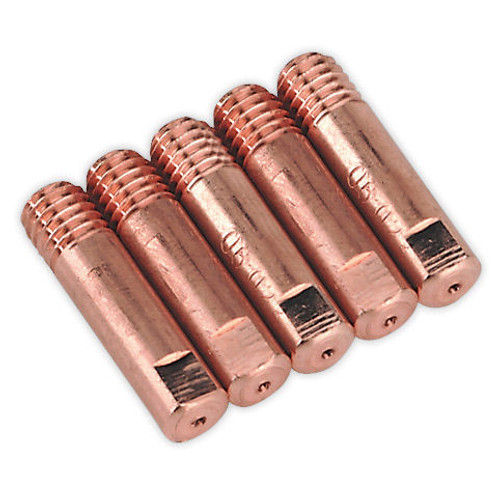 Buy Sealey MIG956 Contact Tip 0.6mm TB14/15 (Pack of 5) at Toolstop