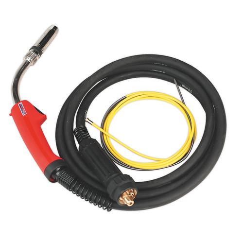 Buy Sealey MIG/T36 Mig Torch 3mtr Euro Connector TB36 at Toolstop