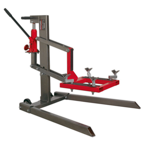 Buy Sealey MCL500 Single Post Motorcycle Lift 450kg Capacity at Toolstop