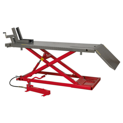 Buy Sealey MC680A Motorcycle Lift 680kg Capacity Heavy-Duty Air/Hydraulic at Toolstop