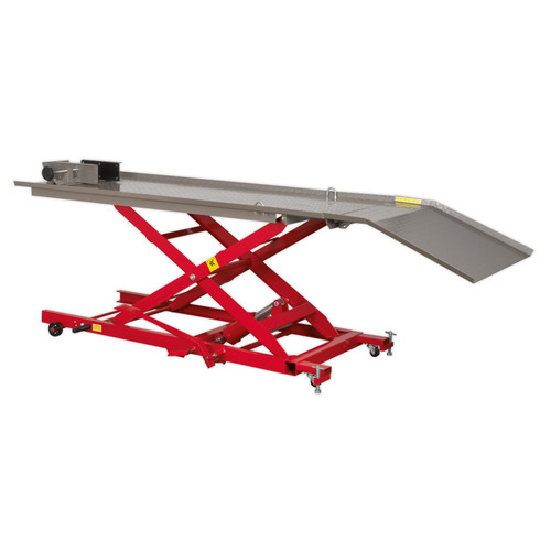 Buy Sealey MC454 Hydraulic Motorcycle Lift 450kg Capacity at Toolstop