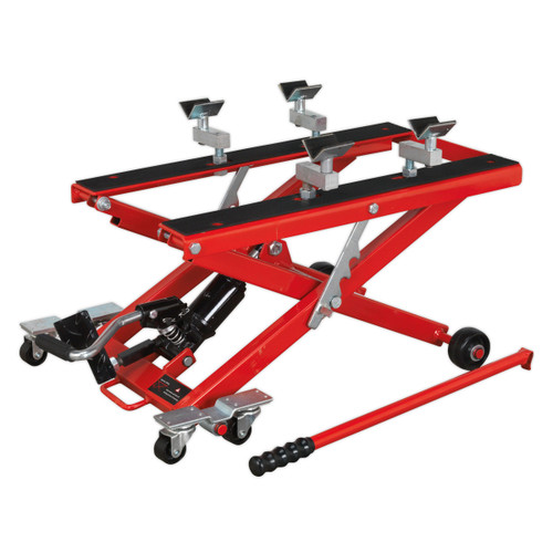 Buy Sealey MC4500 Motorcycle & Quad Scissor Lift 500kg Capacity Hydraulic at Toolstop