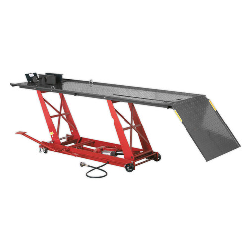 Buy Sealey MC401A Motorcycle Lift 454kg Capacity Air/Hydraulic at Toolstop