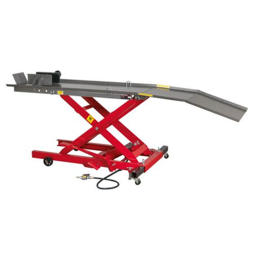 Buy Sealey MC365A Motorcycle Lift 365kg Capacity Air/hydraulic at Toolstop