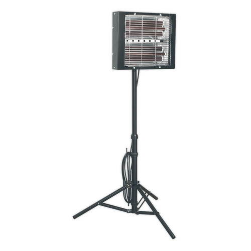 Buy Sealey LP3000 Infrared Quartz Heater - Tripod Mounted 3000w/240v at Toolstop