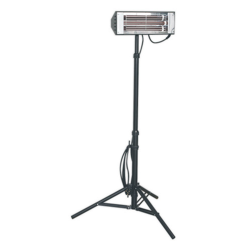 Sealey LP1500 Infrared Quartz Heater - Tripod Mounted 1500w/240v - 1