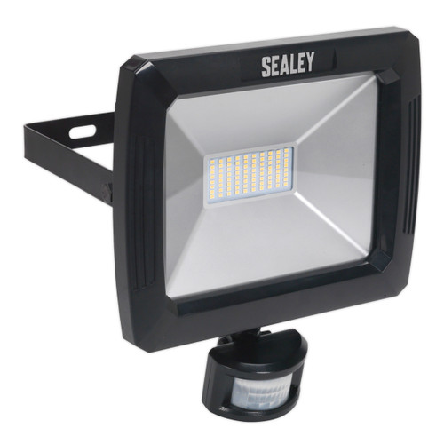 Buy Sealey LED089 Floodlight With Wall Bracket & Pir Sensor 70w Smd Led 240V at Toolstop