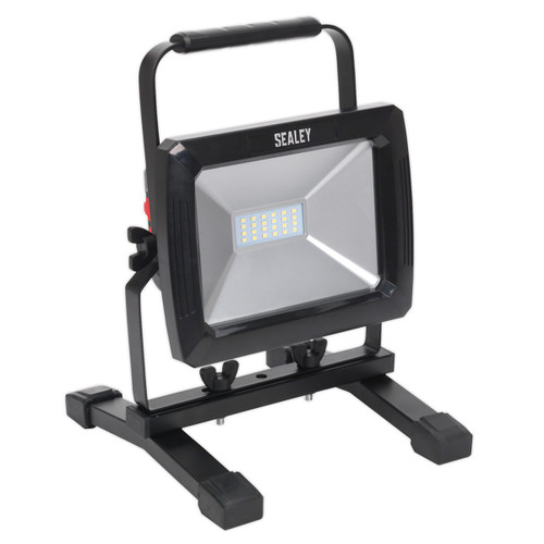 Buy Sealey LED085 Rechargeable Portable Floodlight 20w SMD LED at Toolstop
