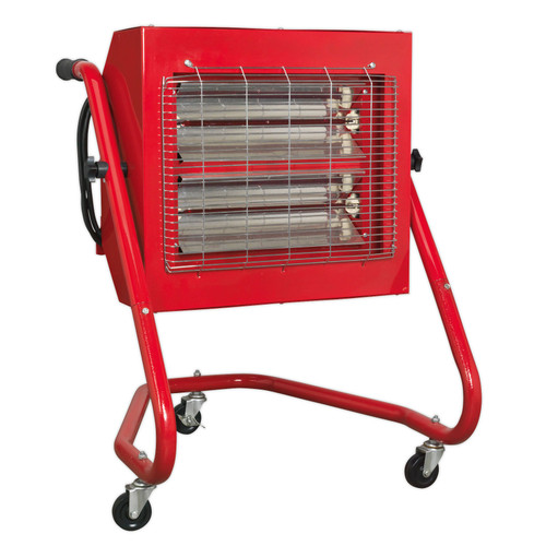 Buy Sealey IRS153 Infrared Heater 1.5/3.0kw 240V at Toolstop