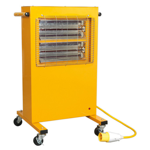 Buy Sealey IRC153110V Infrared Cabinet Heater 1.5/3kw 110V at Toolstop