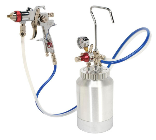 Buy Sealey HVLP-79/P Hvlp Pressure Pot System With Spray Gun & Hoses 1.7mm Set-up at Toolstop