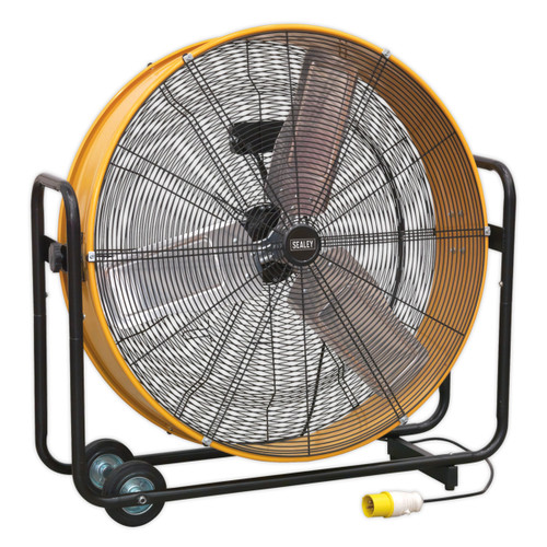 "Sealey HVD30110V 30"" Industrial High Velocity Drum Fan 110V - 2"
