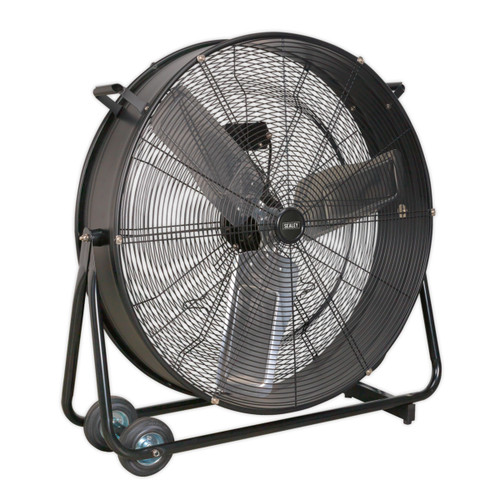 "Buy Sealey HVD30 Industrial High Velocity Drum Fan 30"" 240v at Toolstop"