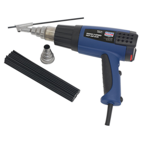Buy Sealey HS102K Plastic Welding Kit Including HS102 Hot Air Gun at Toolstop
