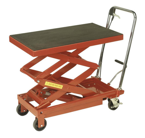 Buy Sealey HPT400H Hydraulic Platform Truck 400kg High Lift at Toolstop