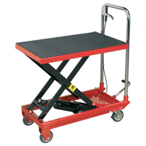 Buy Sealey HPT150 Hydraulic Platform Truck 150kg at Toolstop