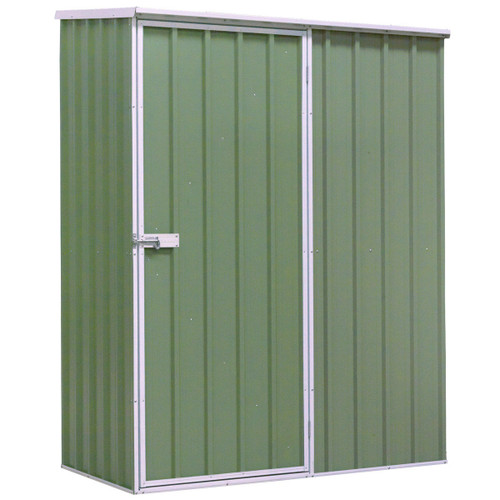 Buy Sealey GSS1508G Galvanized Steel Shed Green 1.5 x 0.8 x 1.9 Metres at Toolstop