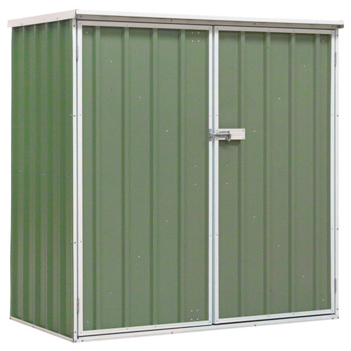 Buy Sealey GSS150815G Galvanized Steel Shed Green 1.5 x 0.8 x 1.5 Metres at Toolstop
