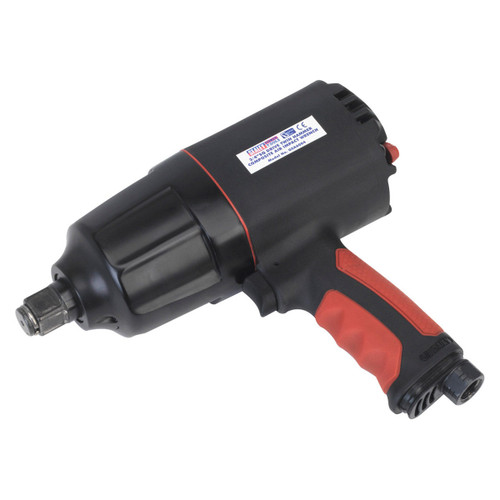 """Buy Sealey GSA6004 Composite Air Impact Wrench 3/4""""sq Drive Twin Hammer at Toolstop"""