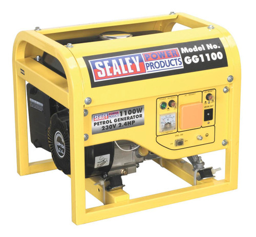 Buy Sealey GG1100 Generator 1100w 240v 2.4hp at Toolstop