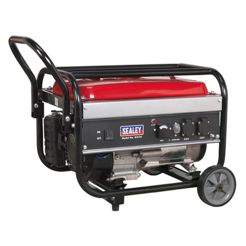 Buy Sealey G3101 Generator 3100W 240V 7hp at Toolstop
