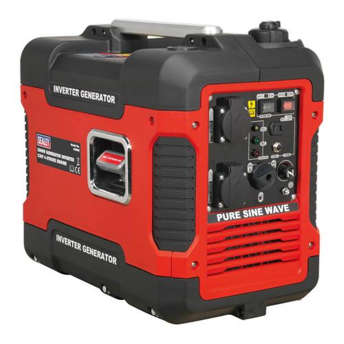 Buy Sealey G2000I Inverter Generator 2000W 240V 4-Stroke Engine at Toolstop