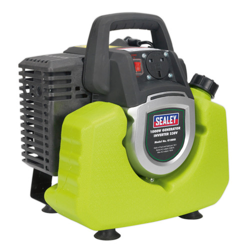 Buy Sealey G1000I Generator Inverter 1000w 240V at Toolstop