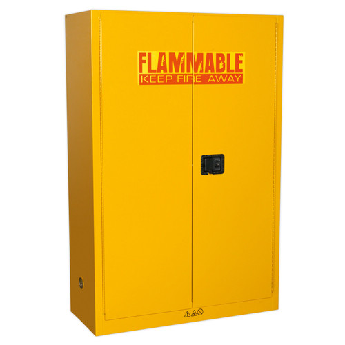 Buy Sealey FSC10 Flammables Storage Cabinet 1095 X 460 X 1655mm at Toolstop