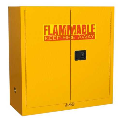 Buy Sealey FSC09 Flammables Storage Cabinet 1095 X 460 X 1120mm at Toolstop