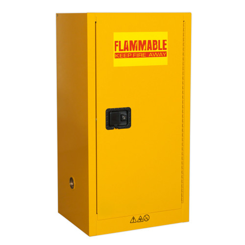 Buy Sealey FSC08 Flammables Storage Cabinet 585 X 460 X 1120mm at Toolstop