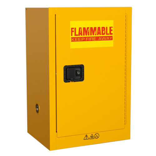 Buy Sealey FSC07 Flammables Storage Cabinet 585 X 455 X 890mm at Toolstop