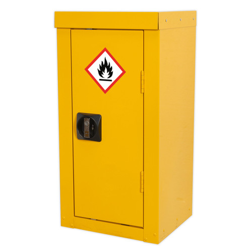 Sealey FSC06 Flammables Storage Cabinet 350 X 300 X 705mm - 2