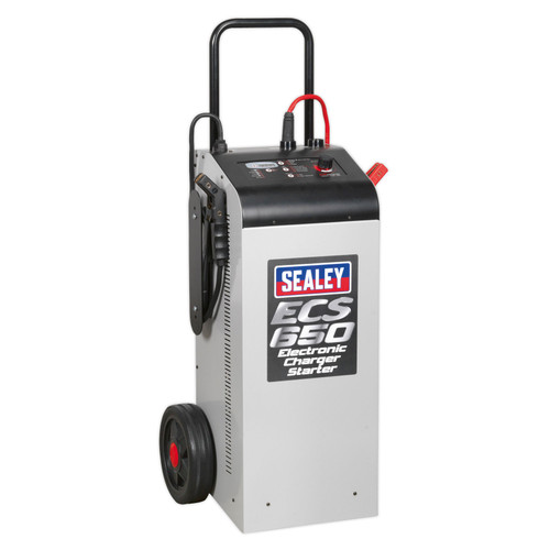 Buy Sealey ECS650 Electronic Charger Starter 100/650A 12/24V at Toolstop