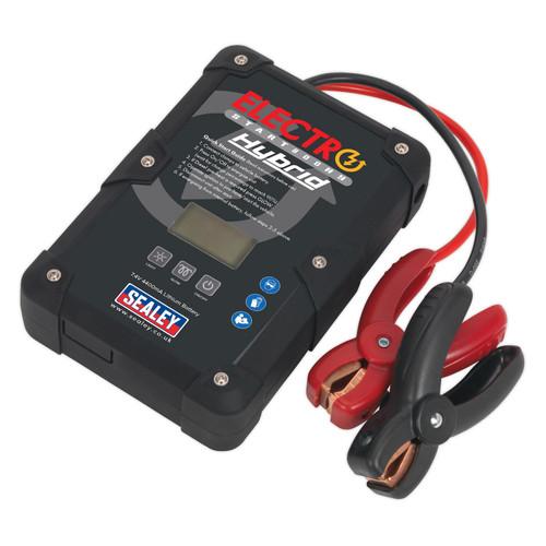 Buy Sealey E/START800HY Electrostart Hybrid Power Start 12V 800A at Toolstop