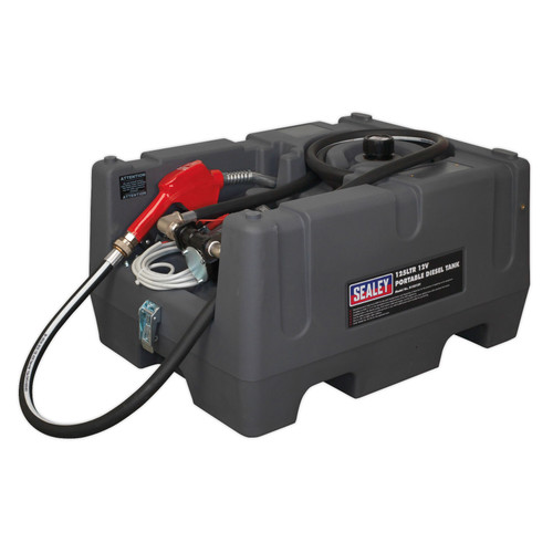 Buy Sealey D12512V Portable Diesel Tank 125ltr 12V at Toolstop