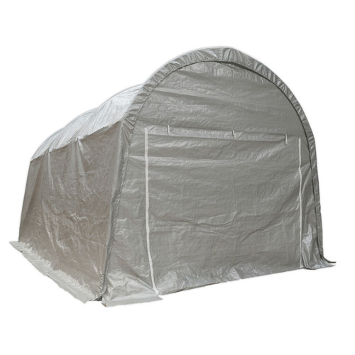 Buy Sealey CPS03 Dome Roof Car Port Shelter 4 X 6 X 3.1mtr at Toolstop
