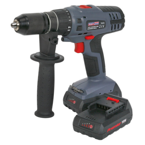 Buy Sealey CP6018V 18V Cordless Combi Drill/Driver Super Torque (2 x 1.5Ah Batteries) at Toolstop