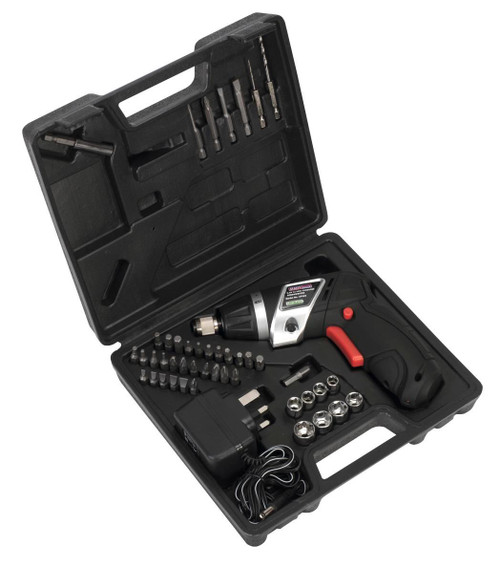 Buy Sealey CP36S 3.6V Cordless Screwdriver Set (46 Piece) at Toolstop