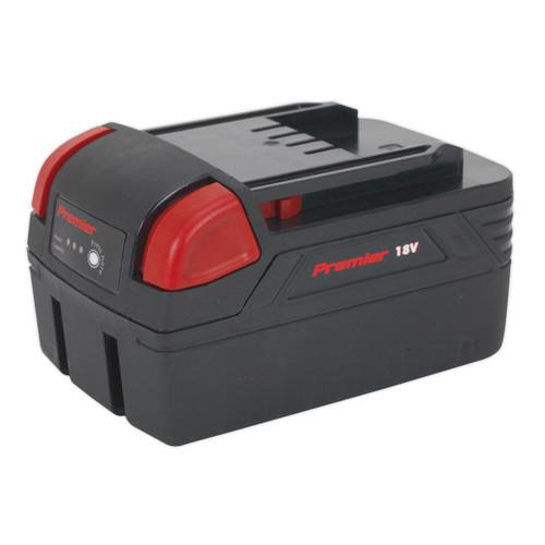 Buy Sealey CP3005BP4 Cordless Power Tool Battery 18v 4ah Li-ion For CP3005 at Toolstop