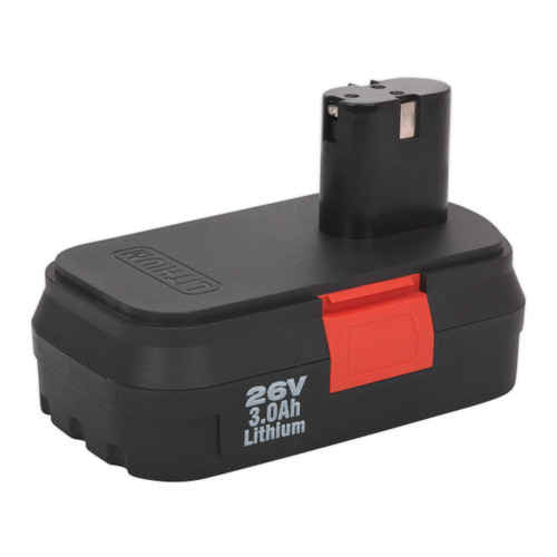 Buy Sealey CP2600BP Cordless Power Tool Battery 26v 3ah Li-ion For CP2600 at Toolstop