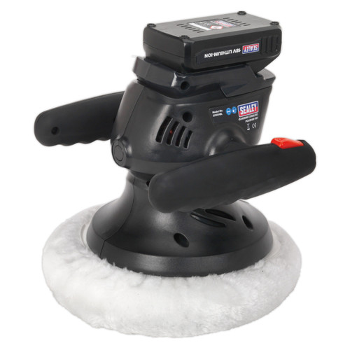 Buy Sealey CP2518L Cordless 18V Lithium-ion Polisher 240mm at Toolstop