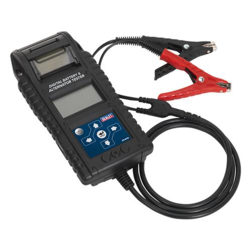 Buy Sealey BT2015 Digital Battery & Alternator Tester With Printer at Toolstop