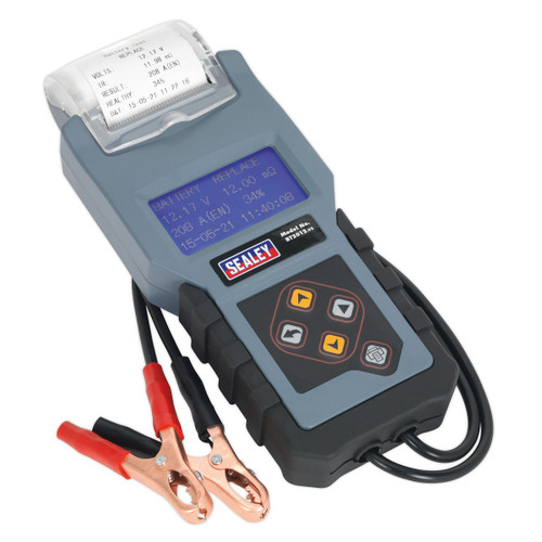 Sealey BT2012 Digital Battery & Alternator Tester With Printer 12V - 3