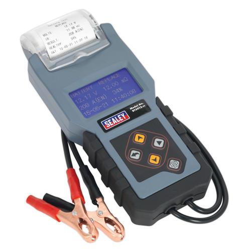 Sealey BT2012 Digital Battery & Alternator Tester With Printer 12V - 3