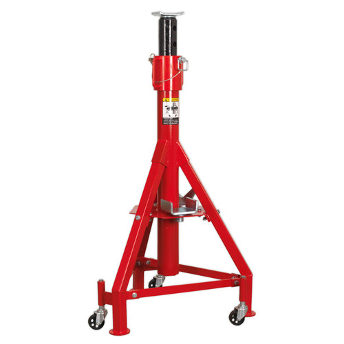 Buy Sealey ASC120 High Level Commercial Vehicle Support Stand 12tonne at Toolstop